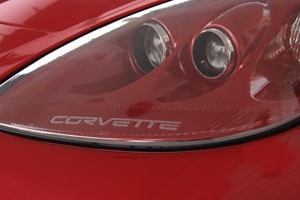 C6 Corvette Etched Decals For Headlights