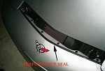CORVETTE C5 97-04 PERFORMANCE HOOD SEAL
