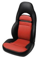 Corvette C5 UltraVinyl Two-Tone Seat Covers