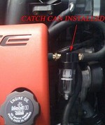 CORVETTE C5 C6 PCV OIL CATCH CAN