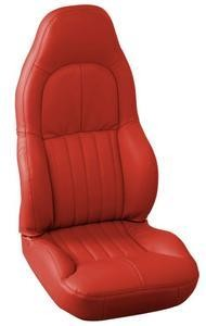 Corvette C5 Leather Seat Skin Covers - Standard Seat