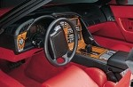 1990-1996 Corvette C4 REAL Rosewood & Burlwood Dash Kits