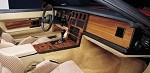 1984-1989 Corvette C4 REAL Rosewood & Burlwood Dash Kits- 5 Piece