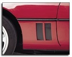 1984-1994 C4 Corvette Side Vent Louver Decals