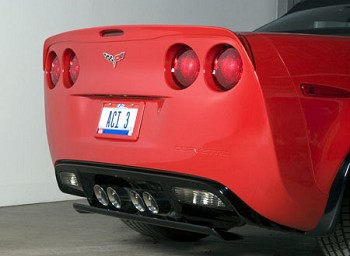 Corvette C6 ACI Non-Drill Rear Spoiler