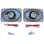 68-82 C3 Corvette Custom Autosound Front Speakers 80 Watts - Pair