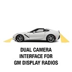 C7 Corvette Stingray/Z06 2014+ GM Dual Camera Interface For Factory Display Radios