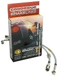 C7 Corvette Stingray/Z06 2014+ Goodridge Stainless Steel Brake Line Kit