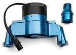 C3 Corvette 1968-1982 Small Block Electric Water Pump - Blue Aluminum