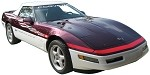 C4 Corvette 1995 Pace Car Decal Kits - Maroon / White
