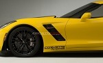 C7 Corvette Stingray/Z06/Grand Sport 2014+ Lower Front Fender Decal - Corvette Racing - Pair