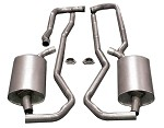 C3 Corvette 1975-1979 Allens Bolt Together HIPO Offroad Exhaust Sytems