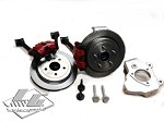 C7 Corvette Stingray/Z06 2014+ LG Motorsports Drag Spindle Conversion Package - 15 Inch
