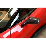 C7 Corvette Stingray/Z06/Grand Sport 2014+ Carbon Fiber Corvette Side Mirror Shells Pair