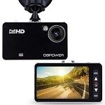 Universal Corvette 1968-2014+ 2.7 Inch HD 1080P Car DVR Dashcam - 120 Degree Angle - Loop Recording - 4X Zoom Lens