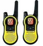 Universal Corvette 1968-2014+ Motorola 23 Mile Range - 22 Chanel Two Way Radios (Pair)