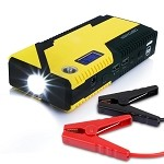 Universal Corvette 1968-2014+ 500A Portable Car Jump Starter - Power Bank - LED Flashlight - LCD Screen