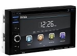 Universal Corvette 1968-2014+ BOSS Audio Double Din 6.2 Inch Touchscreen DVD Player Receiver - Bluetooth