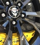C7 Corvette Stingray/Z06 2014+ GM Center Cap - Jake Logo