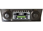C3 Corvette 68-82 USA-1 AM/FM with Cassette & Aux Custom Auto Sound