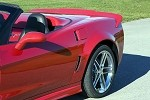 Corvette C6 ACI Z06/Grand Sport Style Rear Quarter Panels For Coupe and Convertible