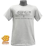 C6 60th Anniversary Team Corvette Tonal Tee