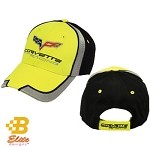 C6R Black and Yellow Corvette Racing Hat
