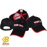 C6 Z06 Corvette Caps Embroidered Black Cotton Twill Corvette