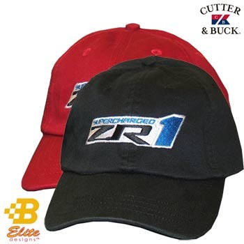 ZR1 Corvette Cutter & Buck Cotton Twill Cap 3 Color Choices