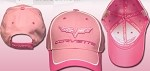 C6 Corvette Pink Ladies Hat w/Hot Pink Accents