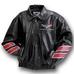 C6 Corvette Grand Sport 2010-2013 Leather Jacket - Leather Color Options