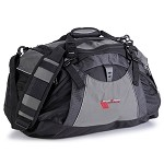 C6 Corvette 2010-2013 Grand Sport Black and Grey Duffle Bag