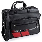 C6 Corvette Grand Sport Leather Computer Briefcase