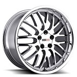C4 Corvette 1984-1996 Cray Manta Wheels Set 17x9 - Finish Options