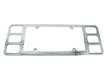 Corvette C4 Rear License Frame (91-96)