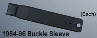 C4 1984-1996 Seat Belt Buckle Sleeve- Each