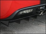 C6 2005-2013 Corvette Aluminum Rear Air Diffuser Set