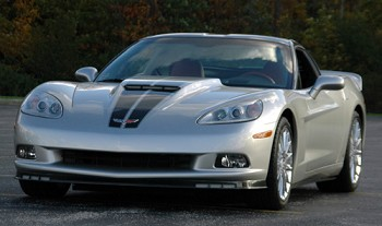 Corvette C6 ACI High Rise Stinger Hood w/ Air Scoop Inlet