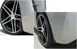 C6 Corvette GM Splash Guard Set