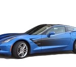 C7 Corvette Stingray 2014+ GM Side Sport Fade
