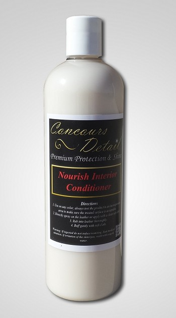 concours detail premium protection shine car cleaning products nourish interior conditioner. Black Bedroom Furniture Sets. Home Design Ideas