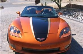 C6 Corvette 05-13 Two-Toned Racing Stripe