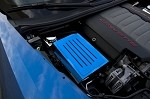 C7 Corvette Stingray 2014+ Custom Painted Fuse Box Cover w/ Ribbed Slots