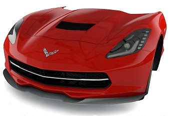 C7 Corvette Stingray 2014+ Stingray Splitter