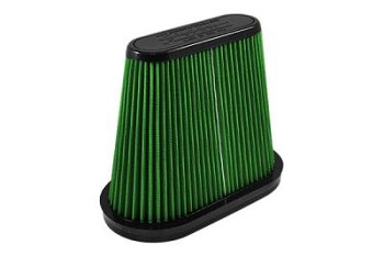 C7 Corvette Stingray 2014+ High Performance Green Air Filter