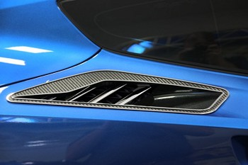 C7 Corvette Stingray 2014+ Carbon Fiber Rear Quarter Vent Set