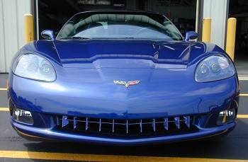 C6 Corvette 05-13 Custom Painted Retro Style Grille