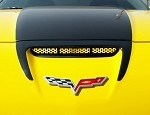 C6 Corvette 05-13 Custom Painted Perforated Z06/Grand Sport Hood Vent Grille