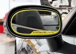 Corvette C6 Custom Painted Side View Mirror Trim Rings 2pc