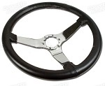 1977-1982 C3 Leather Steering Wheel - 6 Color Options!
